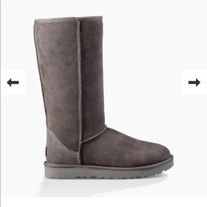 UGG Classic Tall Gray Boots *barely used
